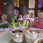 Chinese Yum Cha in London.