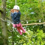 Learning how to Abseil on the school residential Y3/4